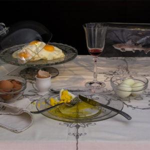 """Still Diets © Dan Bannino - Charles Saatchi – """"Eggs diet"""""""