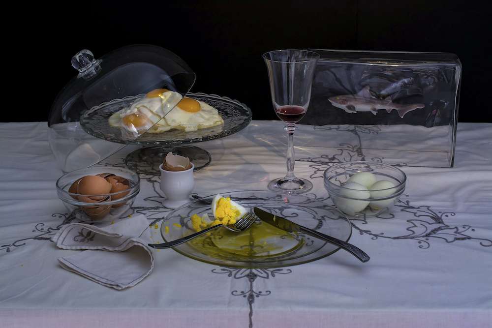 "©Dan Bannino-Charles Saatchi ""Eggs Diet"""
