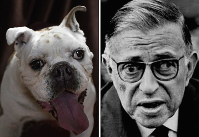 Jean Paul Sartre  - Poetic Dogs