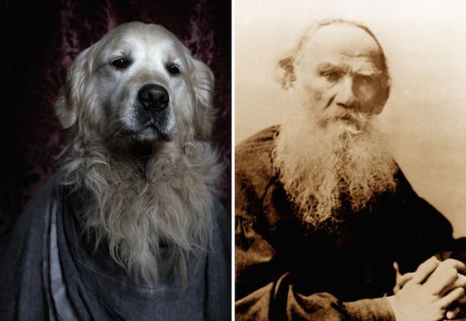 Leo Tolstoy - Poetic Dogs