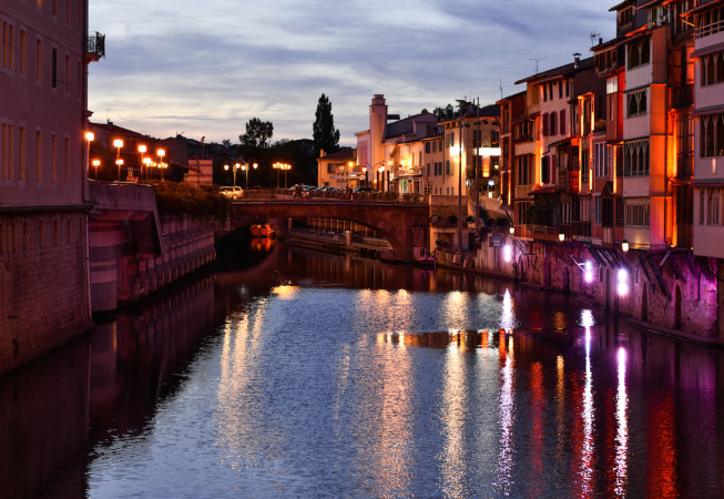 Night Lights in Castres