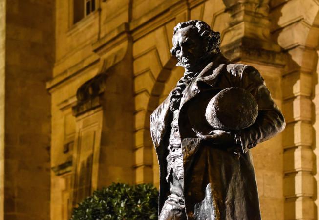 Goya's Statue in Bordeaux