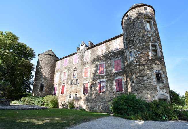 Outside view of the Chateau du Bosc in France, Lautrec's summer house.