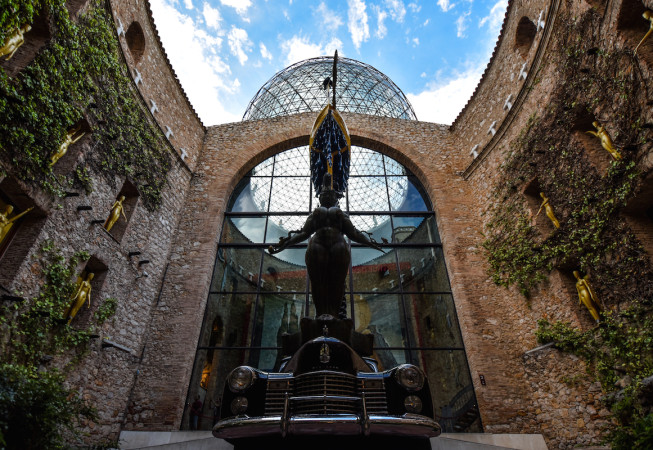 Dalí Theatre and Museum in Figueres - Spain