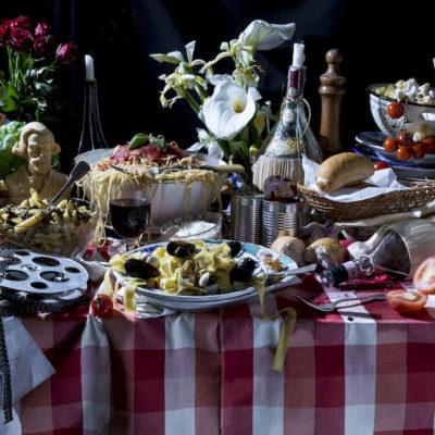 "Still Diets © Dan Bannino Sophia Loren ""Pasta Diet"""