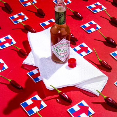 Hillary Clinton/Hot Peppers and Tabasco Sauce