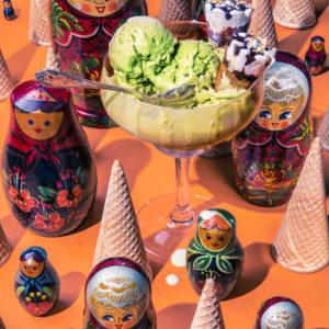 Vladimir Putin/ Pistachio ice-cream