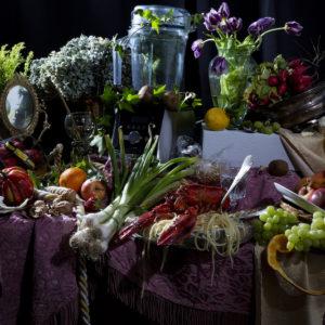 """Still Diets © Dan Bannino Heidi Klum """"80_20 Diet"""""""